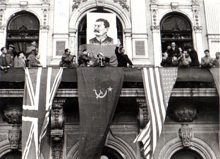 Miting de 7 noiembrie 1944 Fototeca online a comunismului românesc, cota 37/1944
