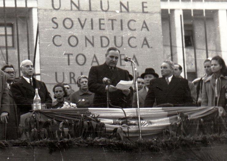 Miting de 8 martie 1950 Fototeca online a comunismului românesc, cota 20/1950