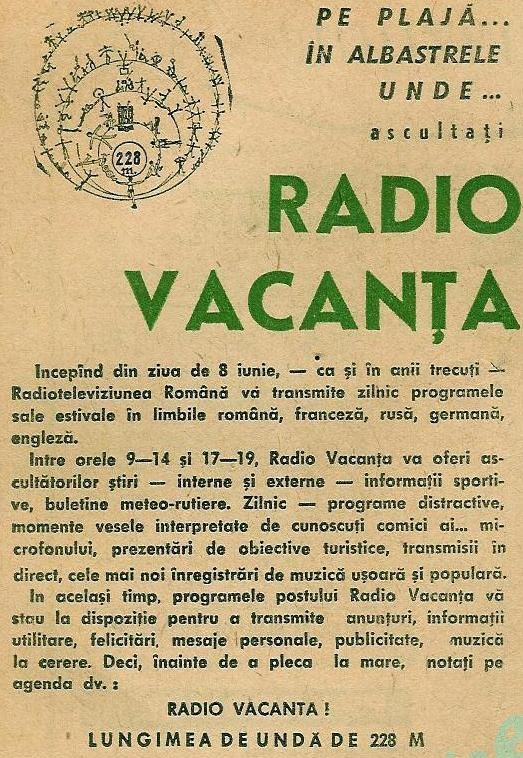 Programul Radio-Tv 8-14 iunie 1969