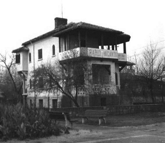 Vila 27 Mamaia - sediul Radio Vacanta