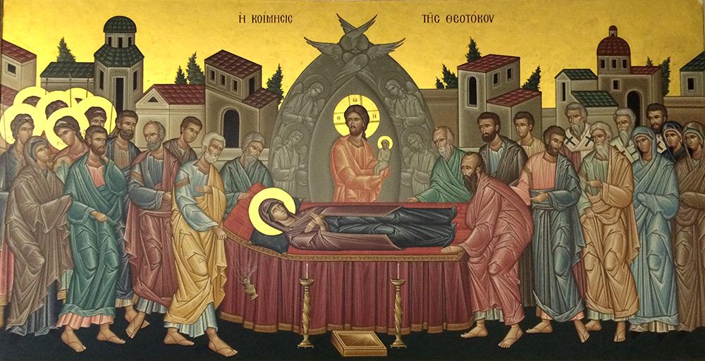 adormirea Maicii Domnului 2