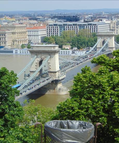 Budapesta – Podul cu lanţuri