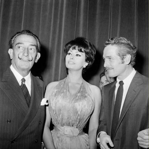 Dali, Sophia Loren si Paul Newman - AFP PHOTO / AFP PHOTO