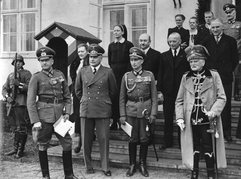 Generalul von Mackensen la 90 de ani, în 1939; sursa wikimedia.org