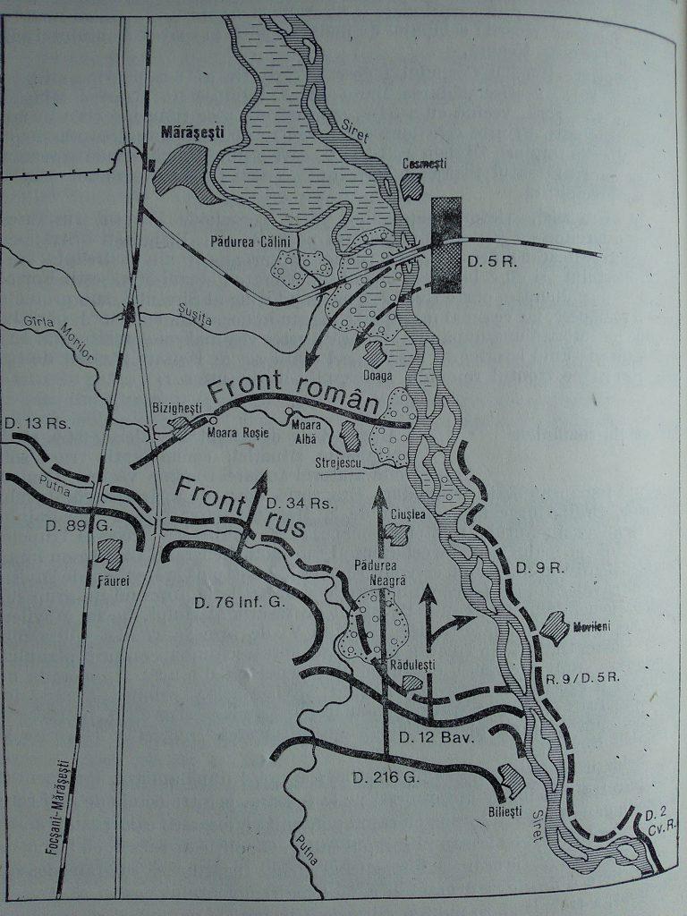 Marasesti 6 aug 1917 sursa C.Kiritescu Istoria razboiului pt Intregirea Romaniei