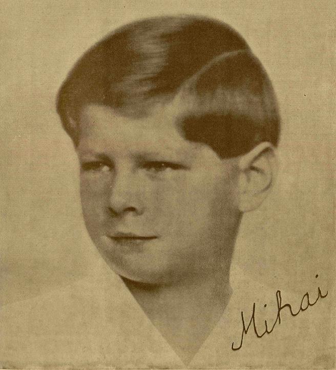 Primul autograf al Regelui Mihai I - 1929