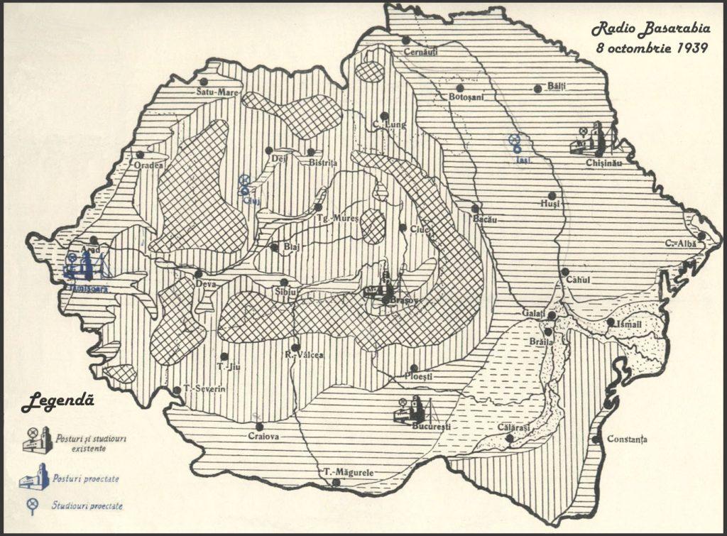 harta romaniei mari radio basarabia