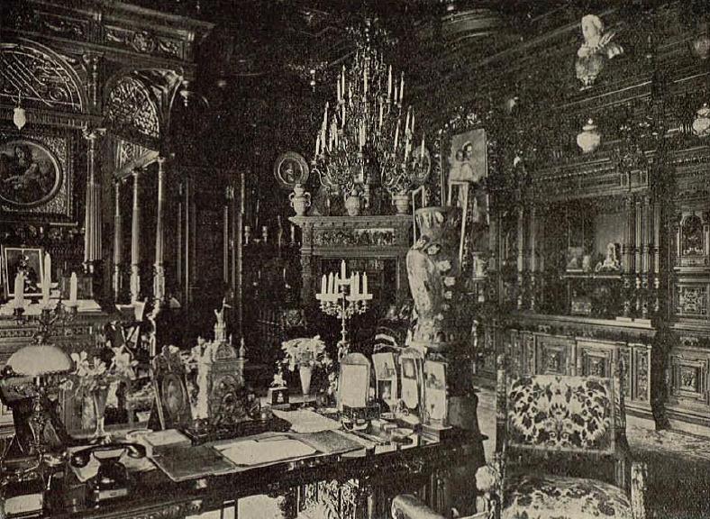 Cabinetul de lucru al regelui Carol I