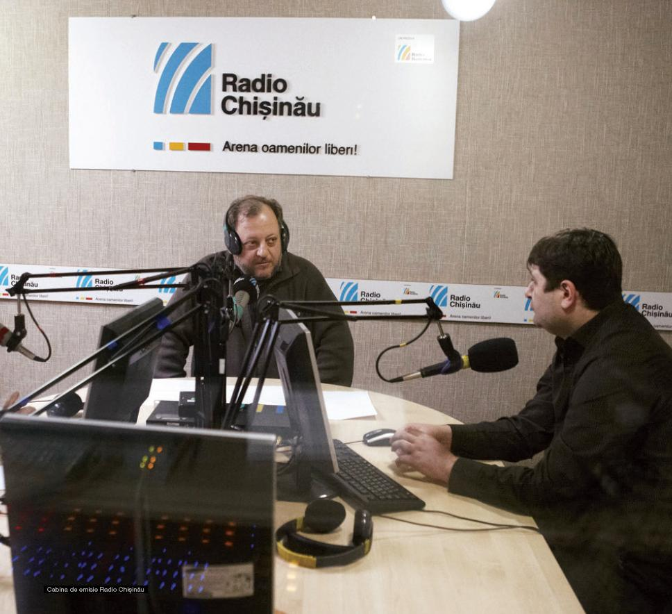 radio chisinau studio
