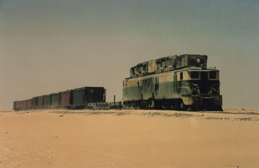 tren mauritania