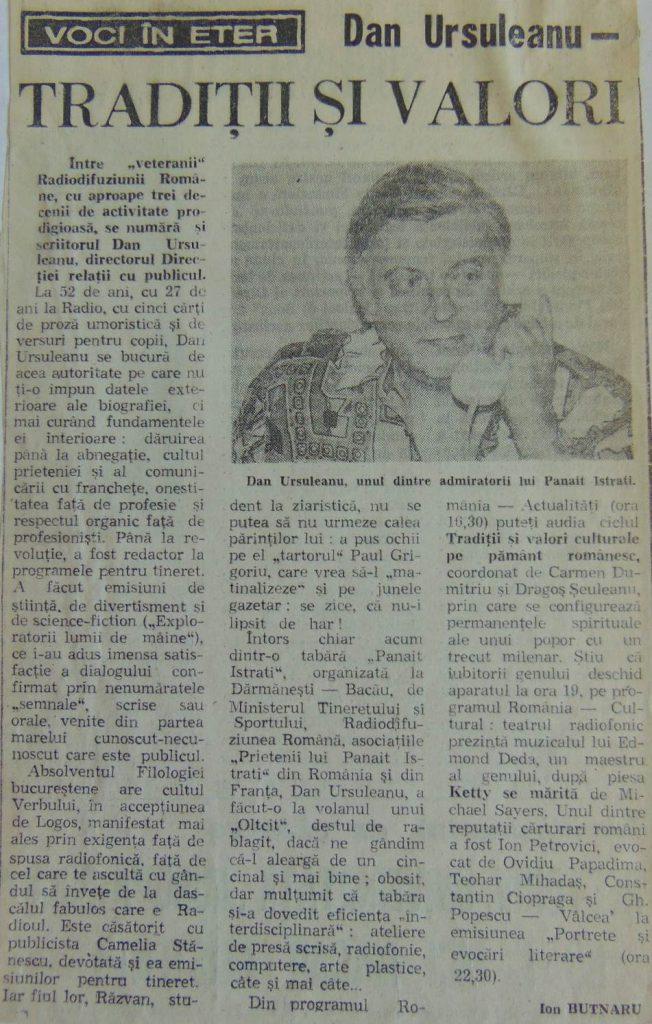 Libertatea, 7 septembrie 1994