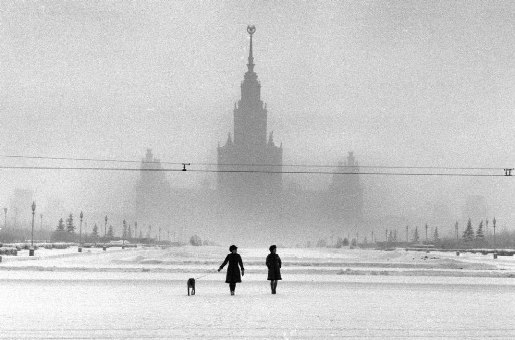 Moscova in 1968
