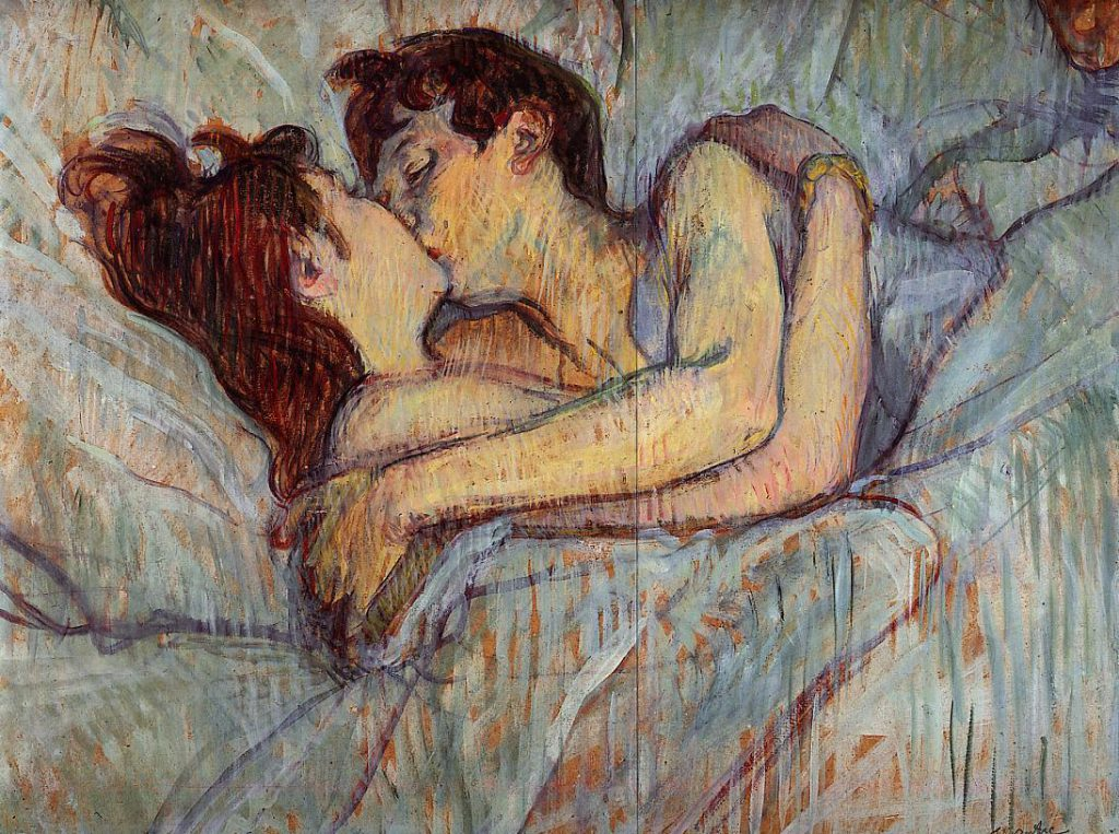 Toulouse_Lautrec_In_bed_the_kiss