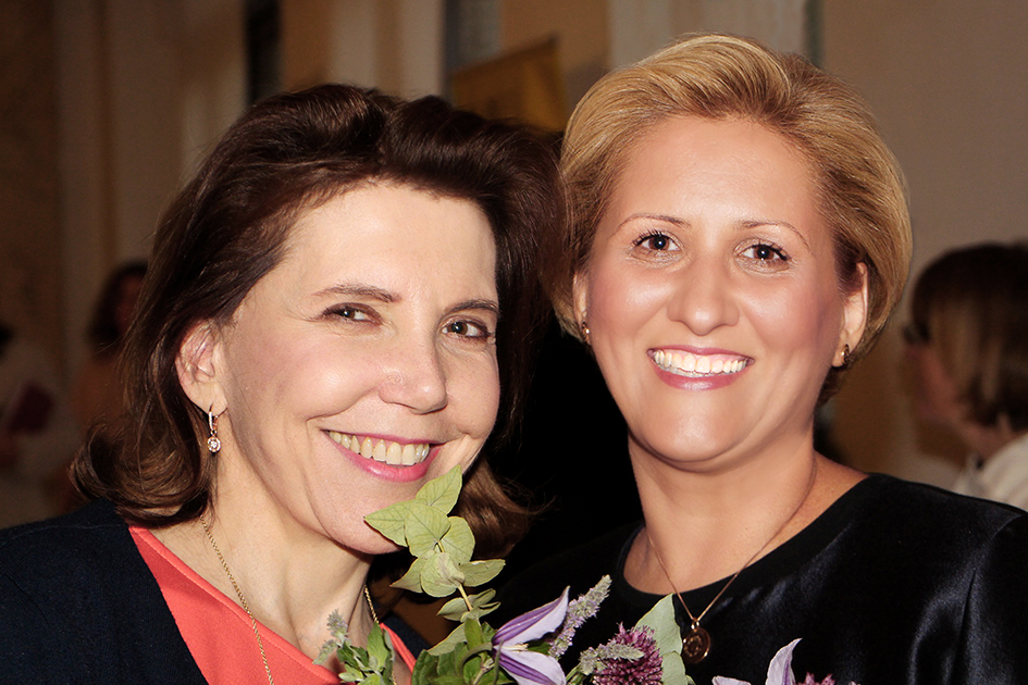 ES Doamna Michèle Ramis – Ambasadorul Franței în România Doamna Liliana Țuroiu – președintele Institutului Cultural Român