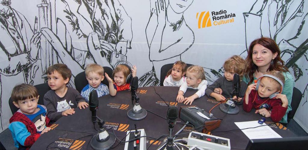 Copii la microfonul Radio România Cultural