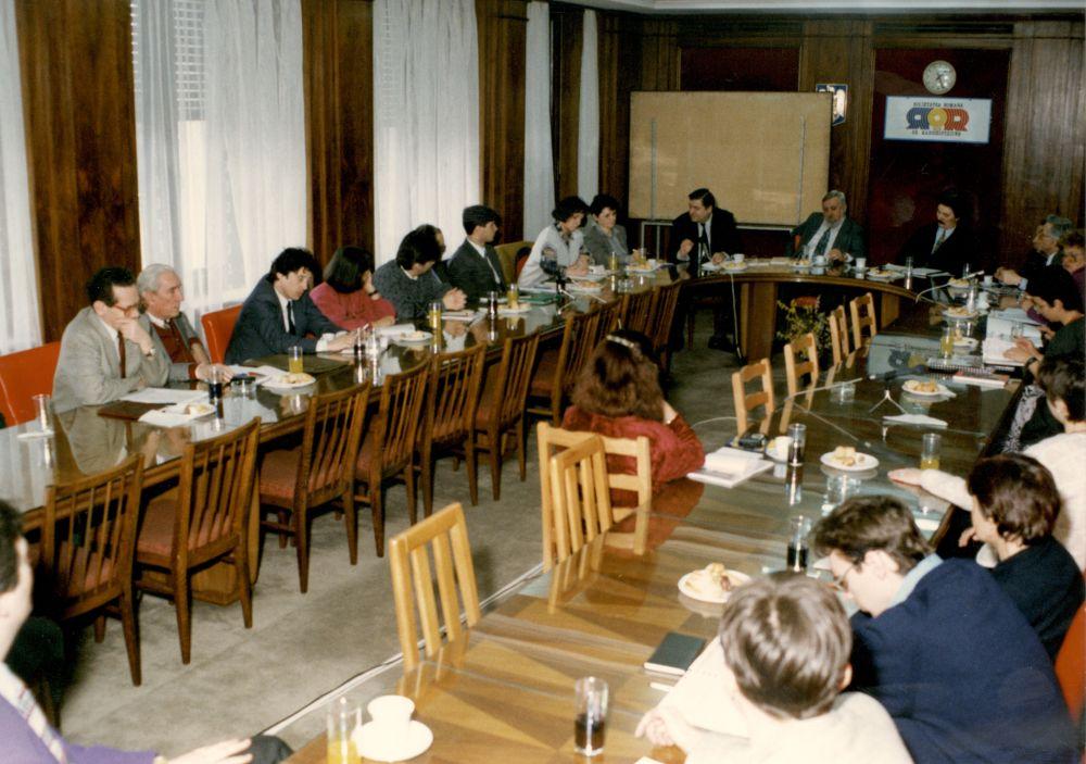 Simpozion Cinci ani de istorie orala la Radio, 1998
