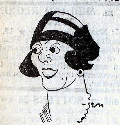 Titela Haqué – caricatură - 1932