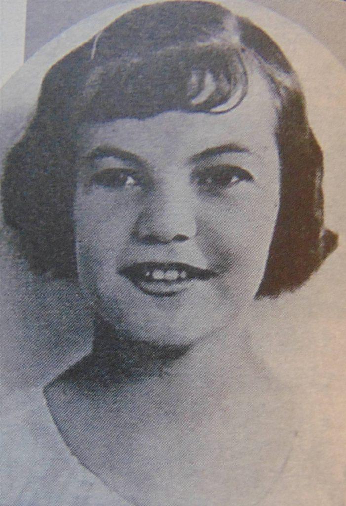"""Virginica Tomescu – interpretă la """"Ora copiilor"""" - 1938"""