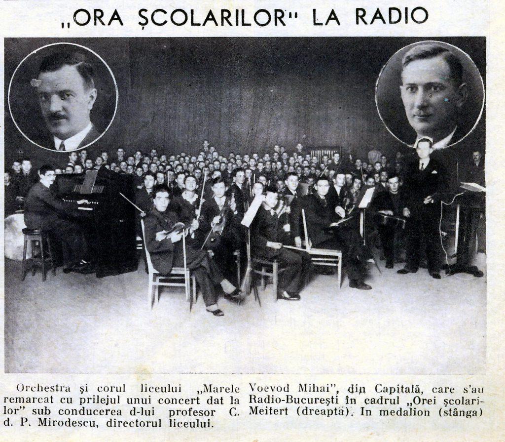 orchestra scolarilor