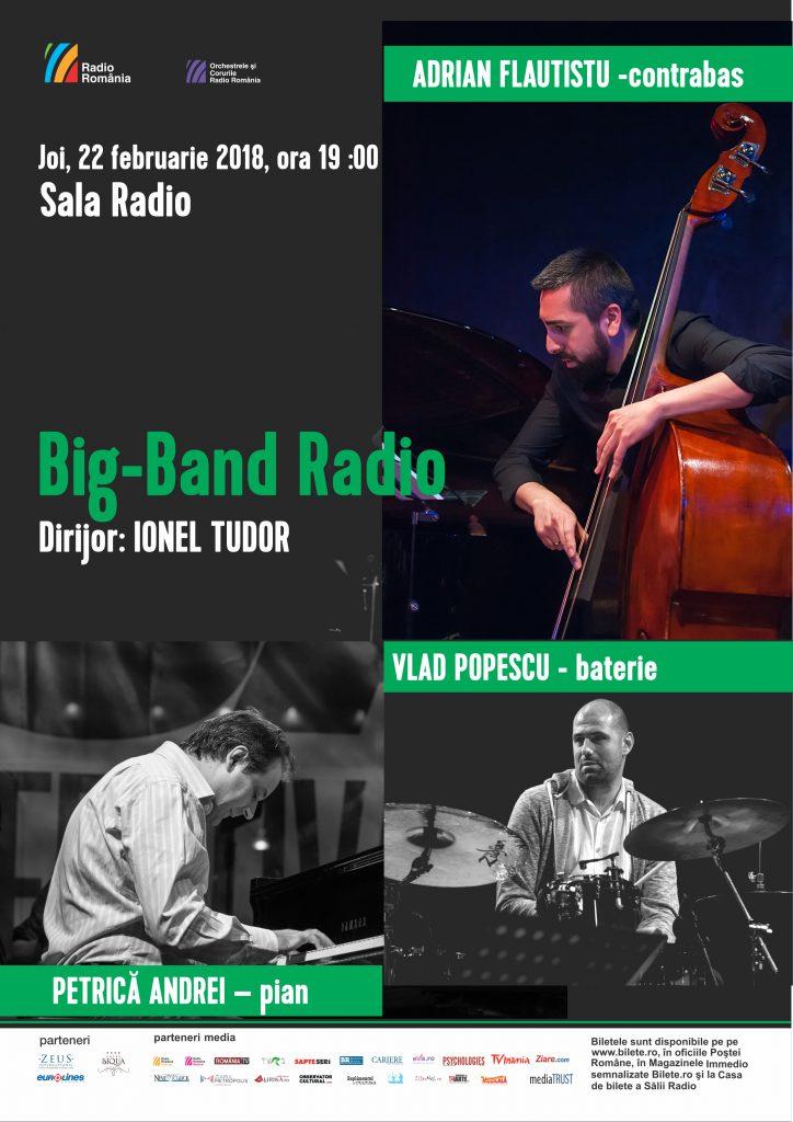 Afis concert Big Band 22 februarie