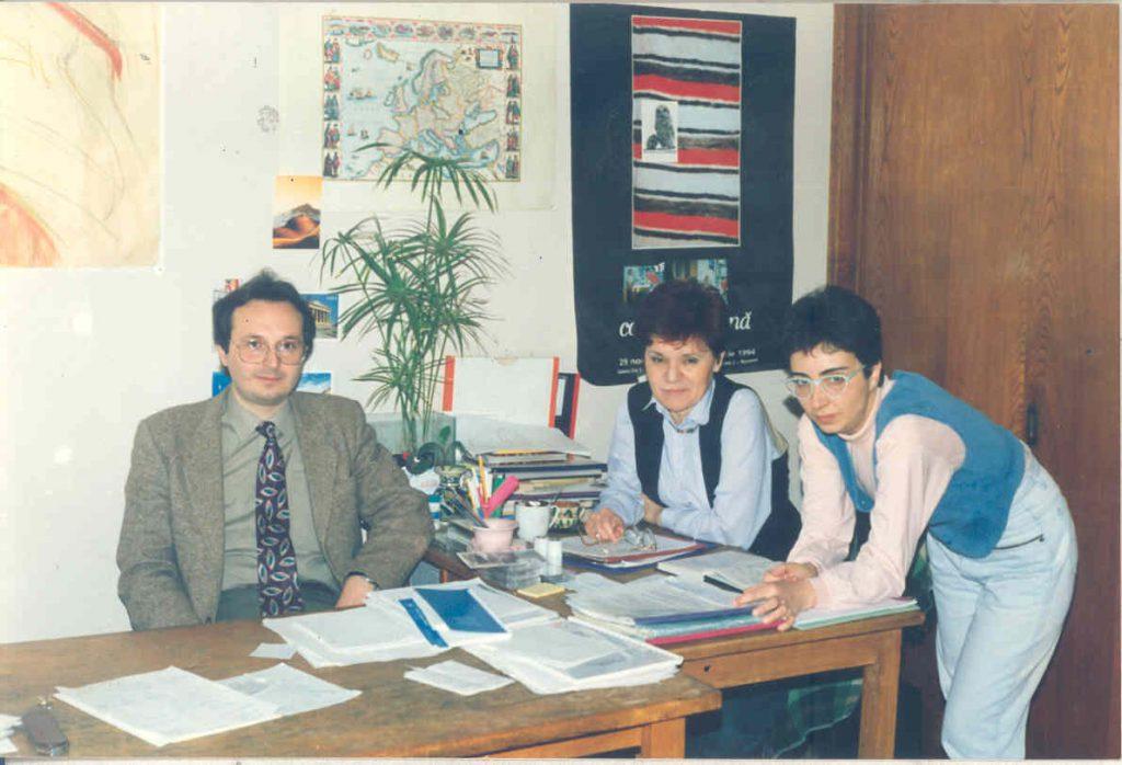 O. Silivestru, M. Conovici, S. Iliescu, in redactie