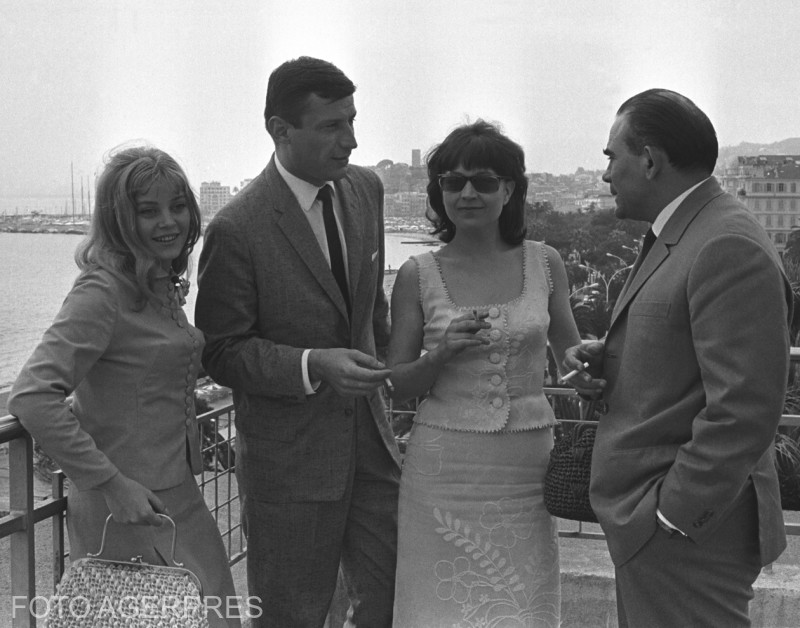 Actorii: Victor Rebenciuc, Liviu Ciulei, Ana Szeles si Gina Patrichi - 1965 mai 1965