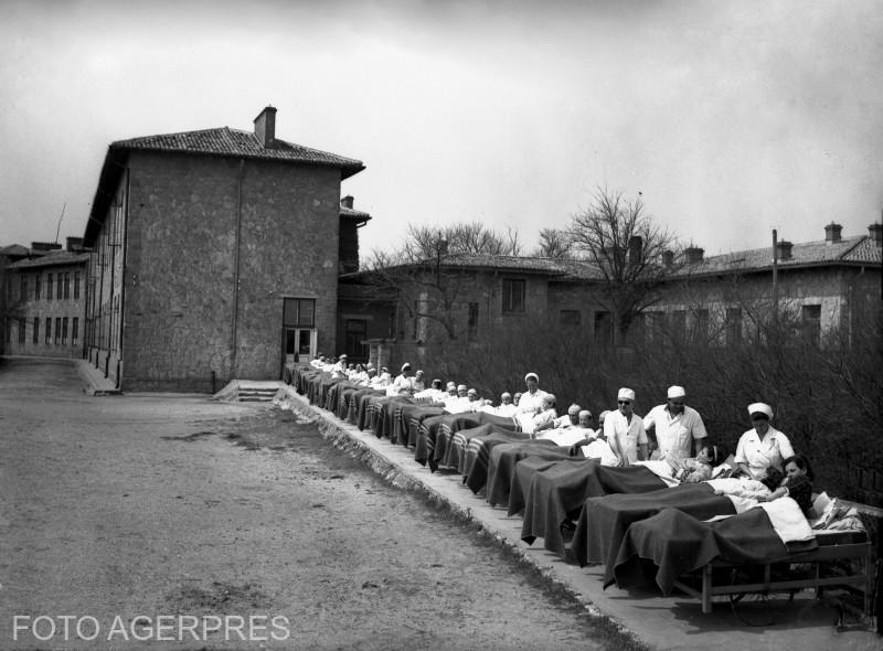 TRATAMENT PENTRU OAMENII MUNCII IN STATIUNE CLIMATERICA 1952