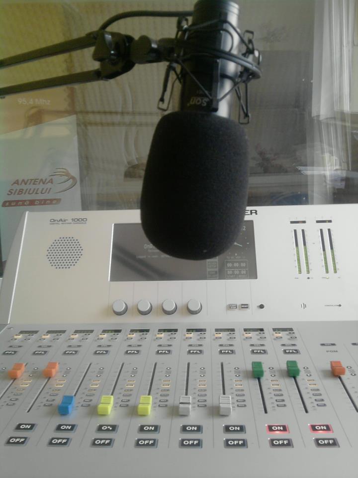 microfon antena sibiului