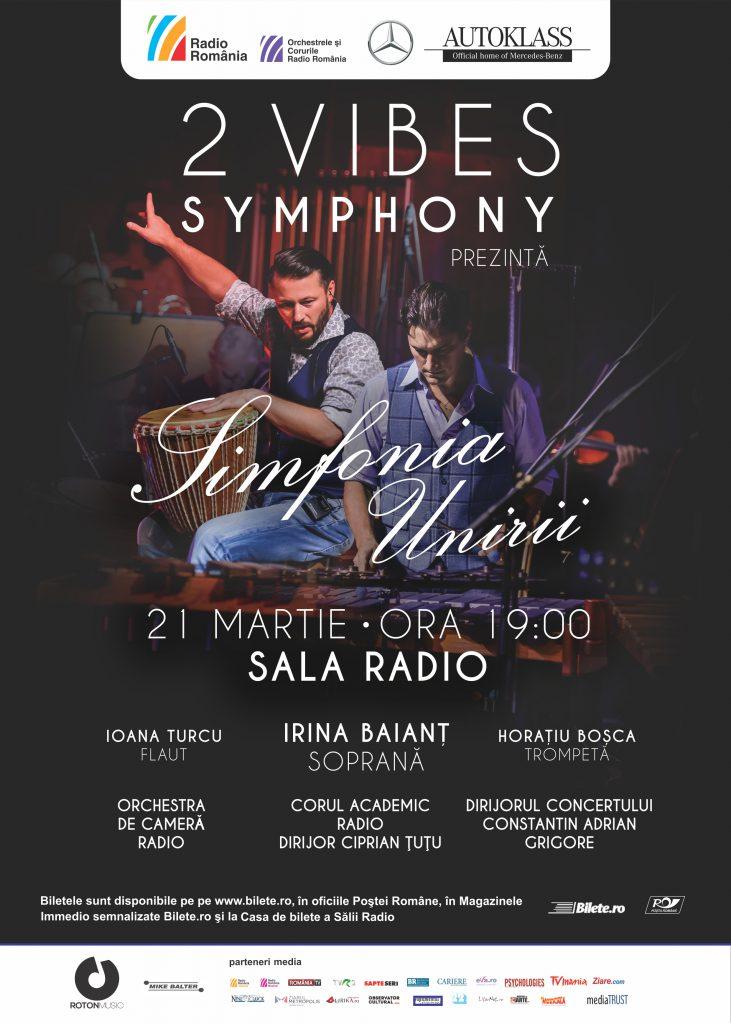 Afis_concert_2 Vibes Symphony OCR 21 martie