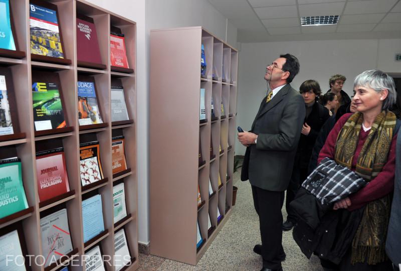 Inaugurarea celei mai moderne Biblioteci Centrale Universitare din Bucuresti.