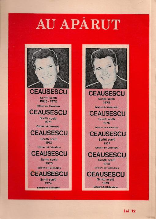 ceausescu revista