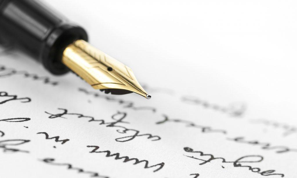 penita scriitor