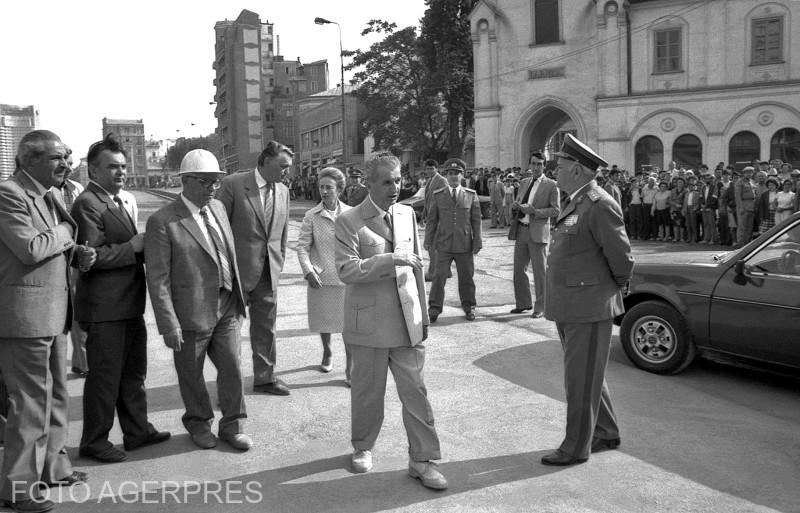 agerpres_5231529 vizita ceausescu dacia 2000