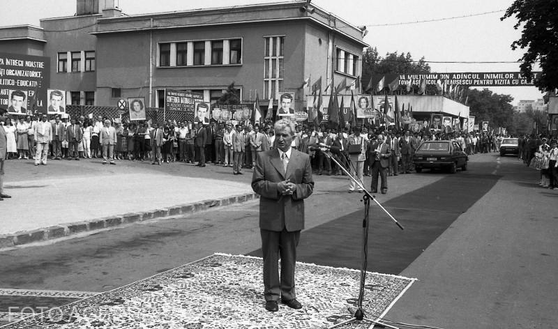 agerpres_9896270 - ceausescu vizita dacia 2000