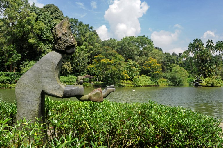 SINGAPORE-ENVIRONMENT-BOTANY-UNESCO