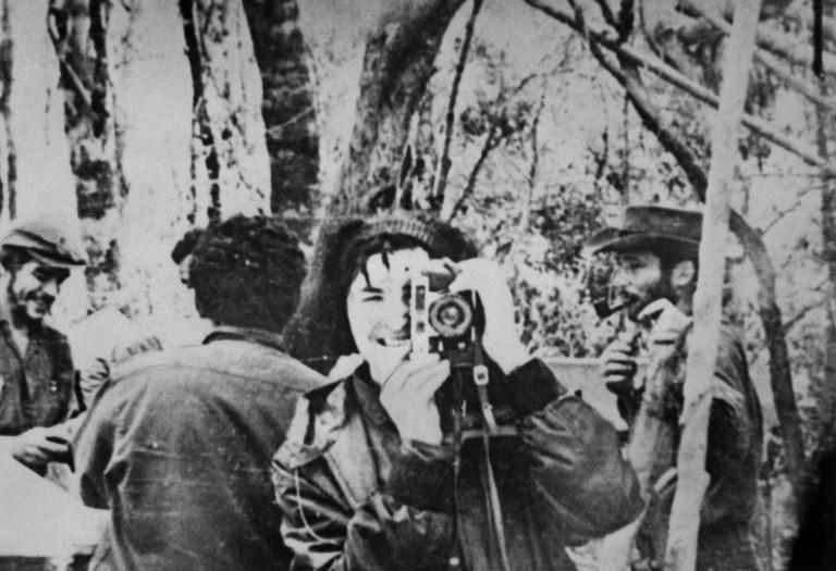 "Foto din 1967, aratandu-l pe Ernesto ""Che"" Guevara incercand sa organizeze revolutia in Bolivia. / AFP PHOTO / -"