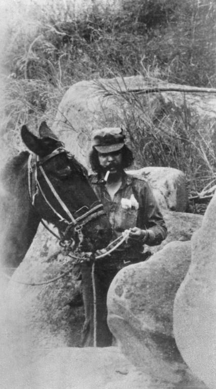 """Ernesto """"Che"""" Guevara, revolutionarul. / AFP PHOTO / -"""