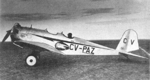 Avion biloc de școală, ICAR, 1932; wikimedia.org