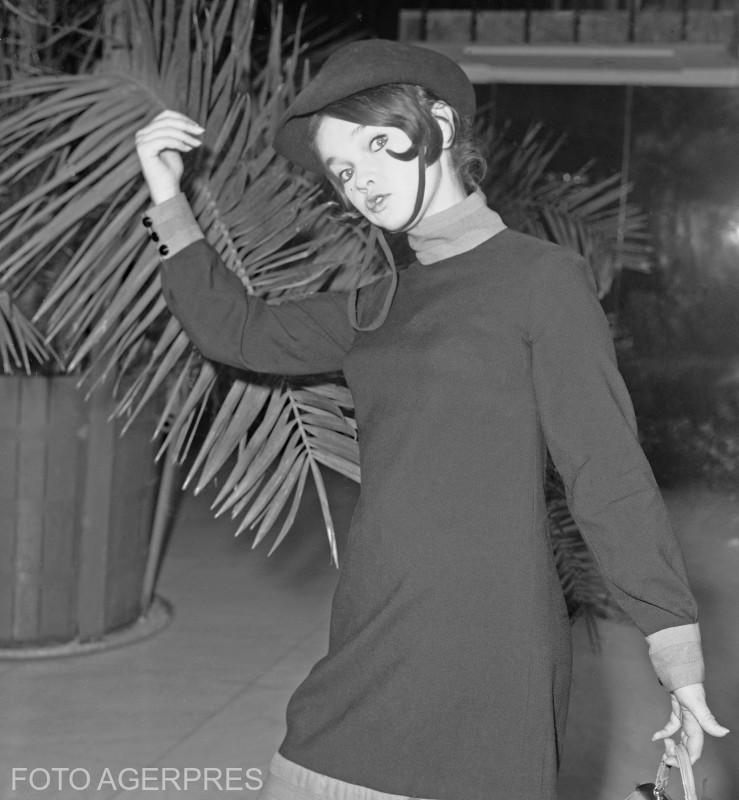Margareta Paslaru la Festivalul 'Cerbul de Aur' 1968.