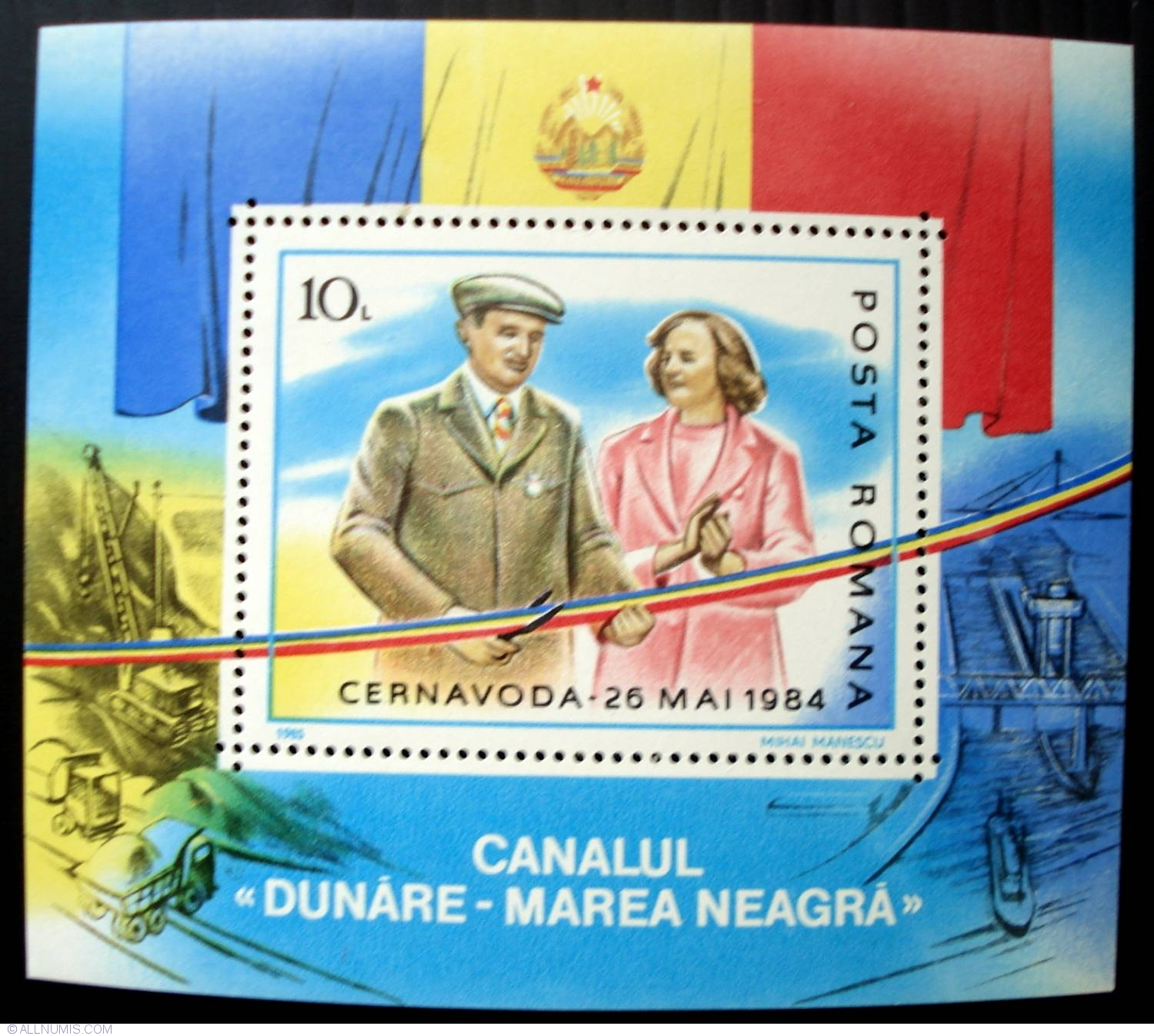 ceausescu canalul